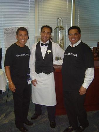 Top Beverage manager for RCCL AND Celebr
