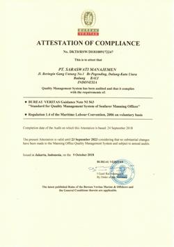 Bureau Veritas Statement
