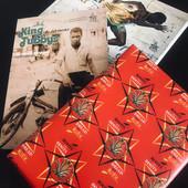 Christmas paper! Papier cadeau DREAD Editions.