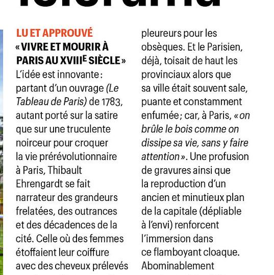 Vivre et mourir à Paris