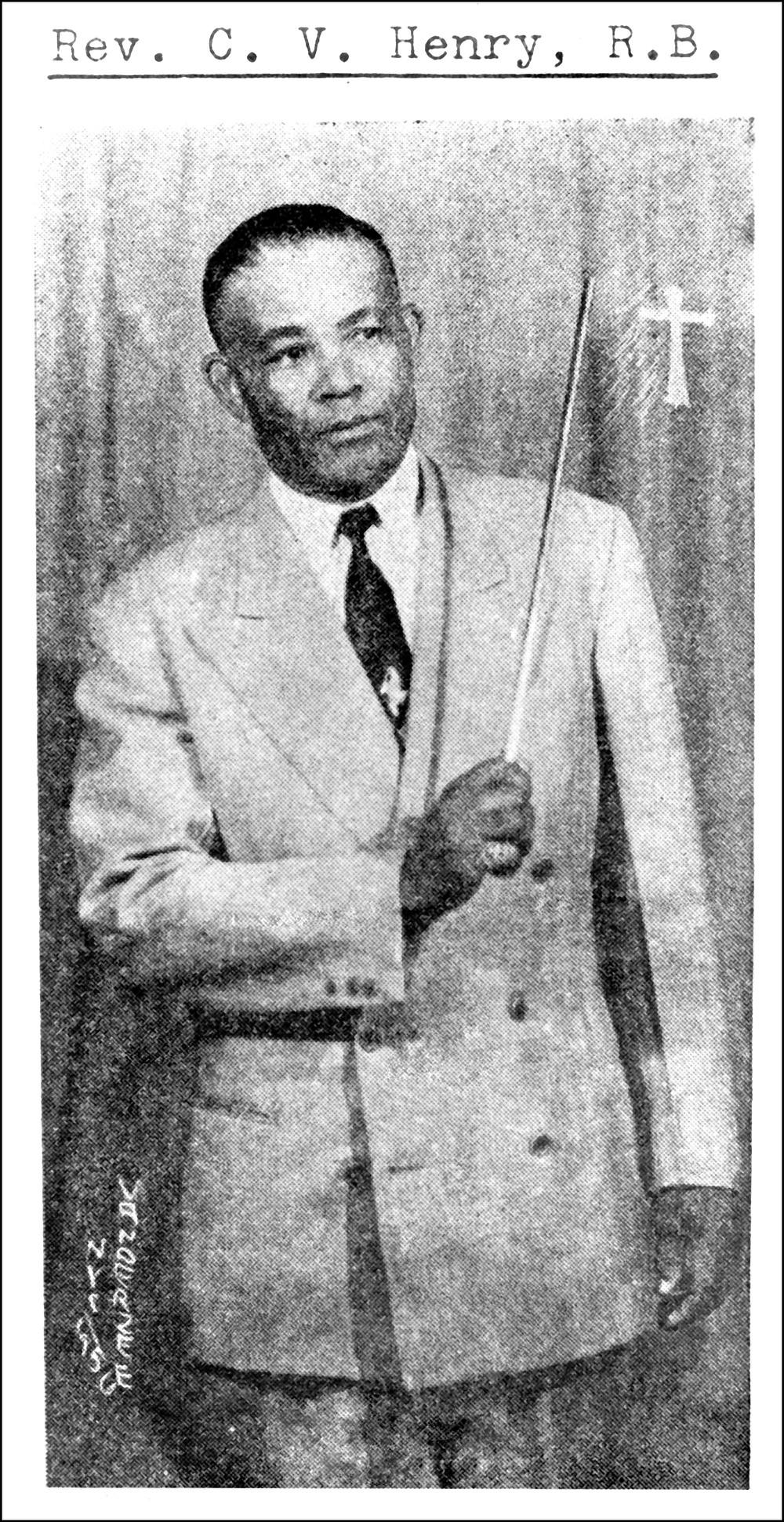 """Henry avec sa """"rod"""", New York. (dr)"""