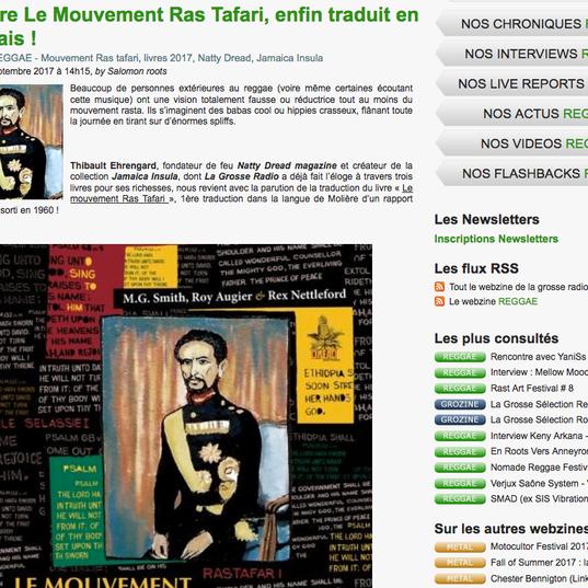 Le Mouvement Ras Tafari