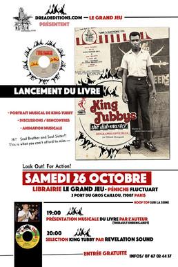 Lancement du livre à La Librairie Le Grand Jeu à Paris !