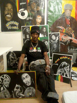 Jamaican Street Artists: Portrait (6)