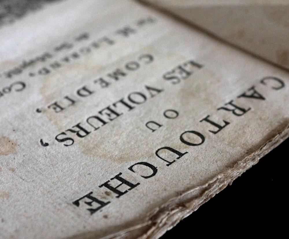 Edition de la pièce de Legrand (1721)