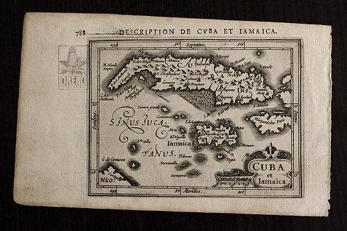RARE, Cuba et Iamaica de BERIUS... 1616 !