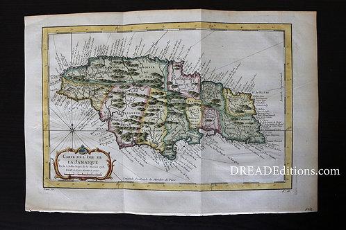 - Carte de l'Isle de la Jamaïque (1758).