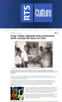 King Tubby, papier sur la RTS !