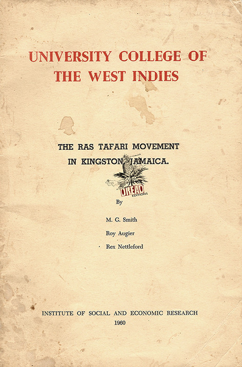 Page de titre de l'édition originale du rapport, en 1960 (DREAD Editions).