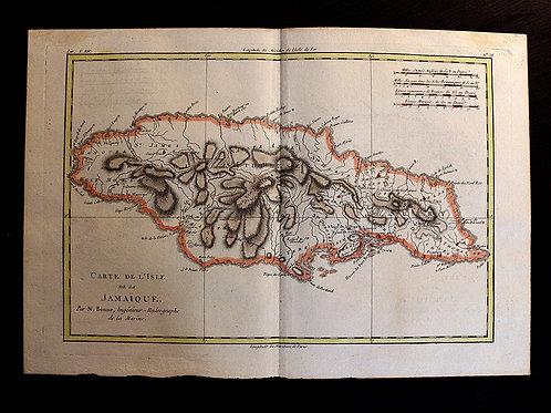 ORIGINALE ! Carte de 1781 (pas une copie).