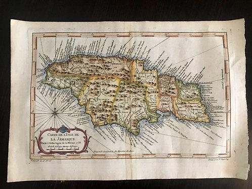 Carte de l'Isle de la Jamaïque (1758)