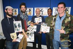 DREAD chez Vibes A Come (R.G.B FM).
