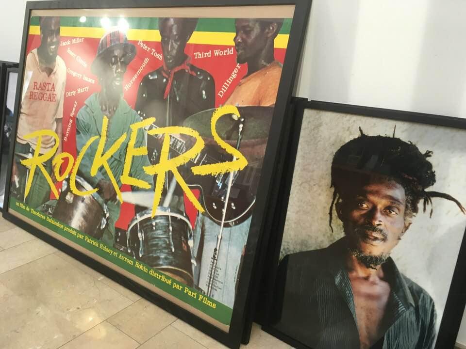 Affiche du film culte Rockers & Blac