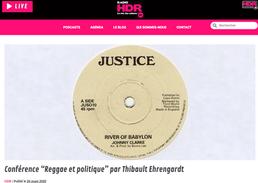 Conférence : Reggae et politique...