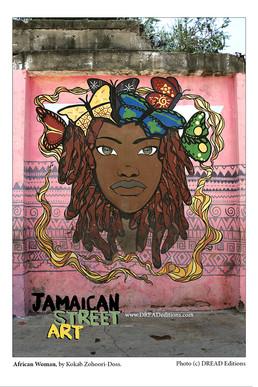 Jamaican Street Art : Portraits
