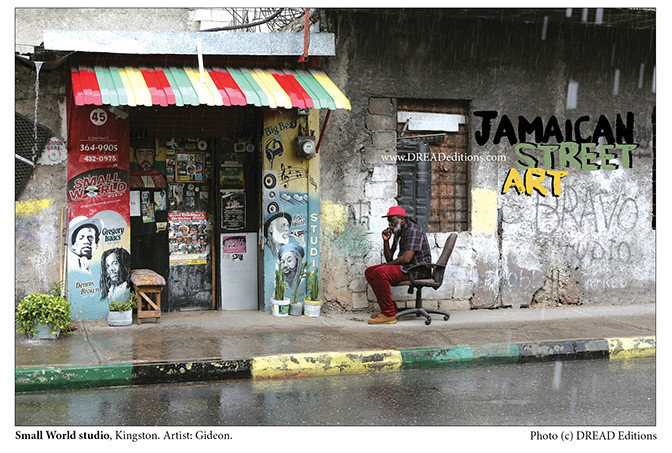 Photo tirée du livre Jamaican Street Art (DREAD Editions)
