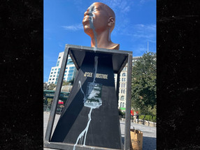 Someone Vandalized George Floyd's Statue in NYC's Union Sq Just Days After Unveiling