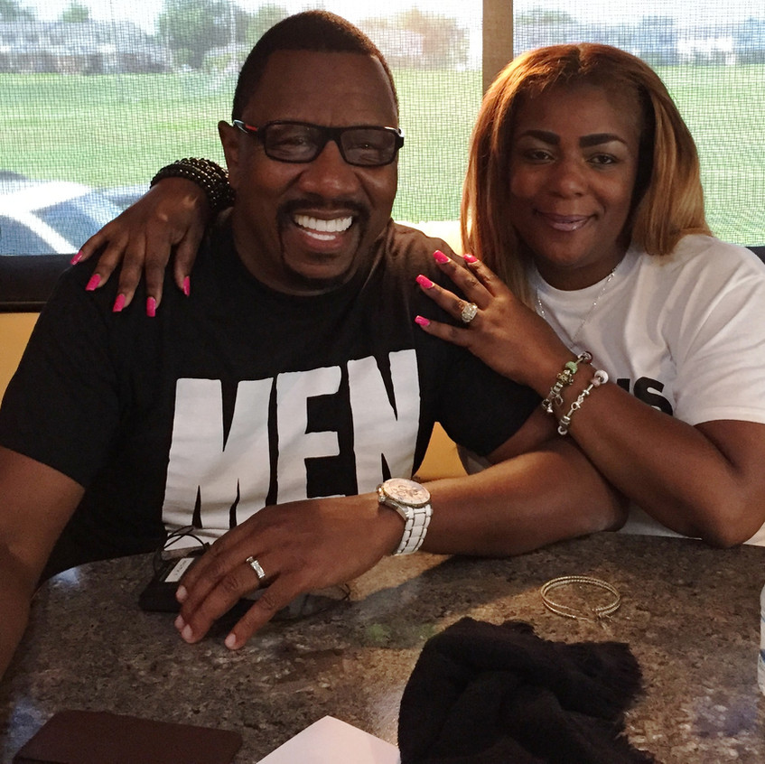Word Church Pastor R. A. Vernon shared the churches purpose in community missionary. He is pictured with wife Lady Victory Vernon
