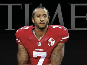 Colin Kaepernick is Time Magazine's New Cover Boy