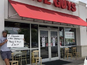 Five Guys Workers Fired, Suspended for Refusing to Serve Police Officers