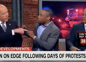 Mark Lamont Hill Explodes on Ex-NYPD Cop: 'You Think Black People Are Prone To Criminality?!' (Watch