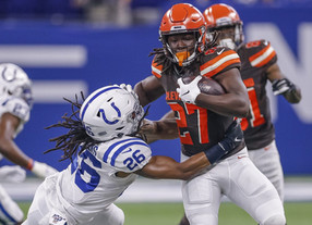 Browns hold off Colts, keep rolling with 4th straight win