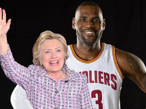 LeBron James Wants You to Know He's with Hillary and Why