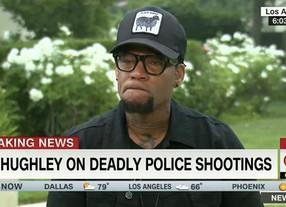 D.L. Hughley Breaks Down Over Police Killings of Black Men (Watch)