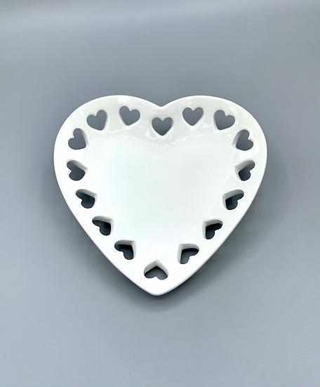 Porta objetos coração