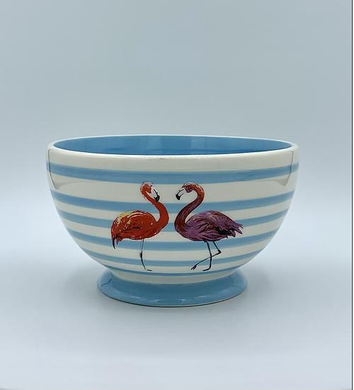 Bowl  flamingos