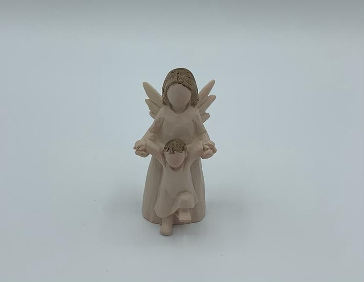 Anjo com criança