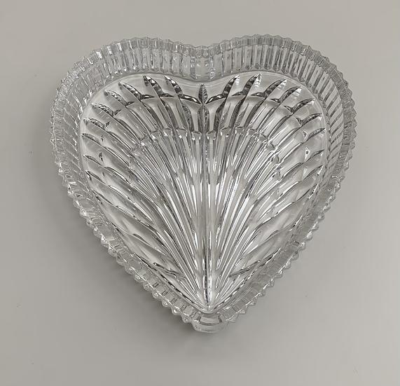 Pestisqueira de cristal coração