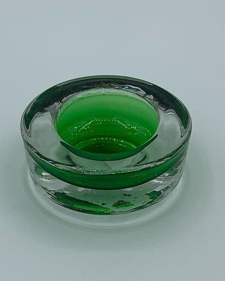Castiçal redondo verde