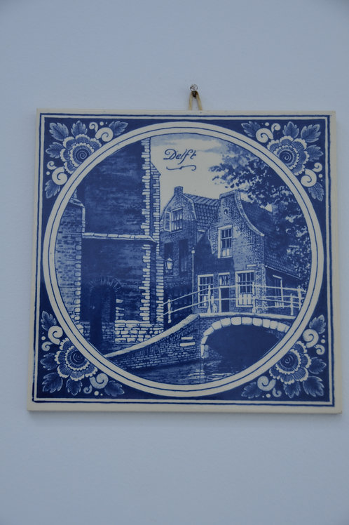 Delft Decorative Tile Wall Hanging