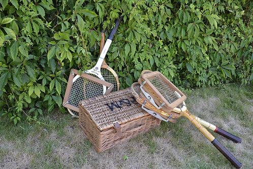Pair of Vintage Tennis Rackets