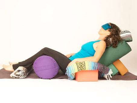 Why Restorative Yoga is a perfect compliment to a strong Hot Practice