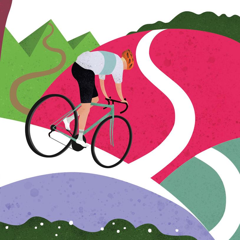 Hill Climber Print