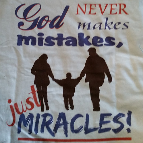 God doesn't make mistakes, just miracles - Youth