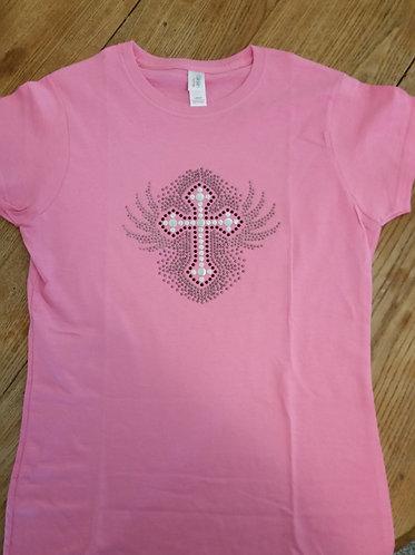 Studded Cross Shirt
