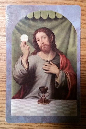 copy of Prayer Card- Spiritual Communion