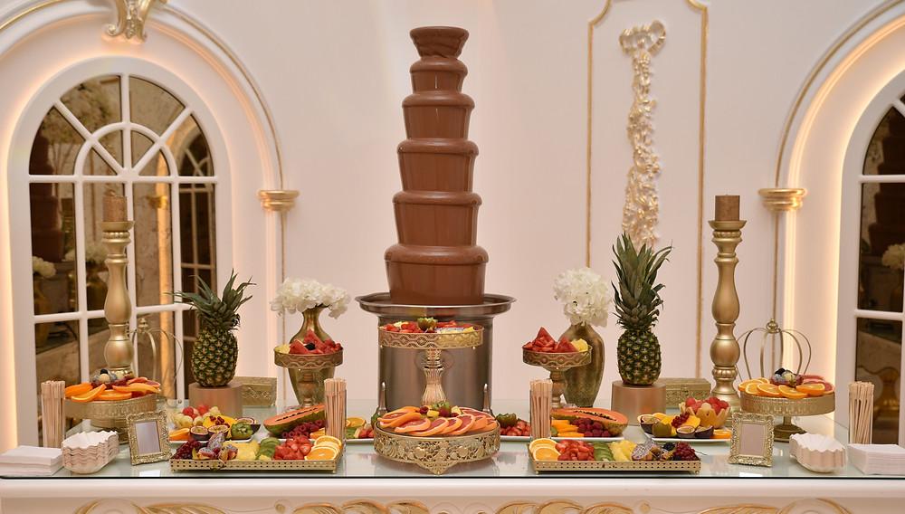 Chocolate Events | Fruitbuffet en Chocoladefontein