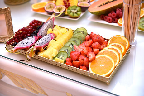 Fruitbuffet Chocolate Events