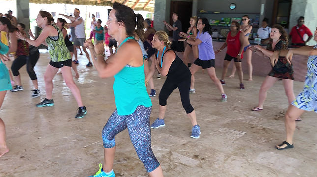 Yvonne's Fitness Zumba Vacation to DR 2019
