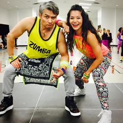 Yvonne & Roberto MB Mutts Zumba Fundrais