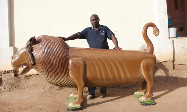 How Ghana's top fantasy coffin artist has put the fun in funeral
