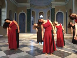 Ayavukla Kilisesi unutulmayacak bir  Çağdaş Dans Performansına tanıklık etti...