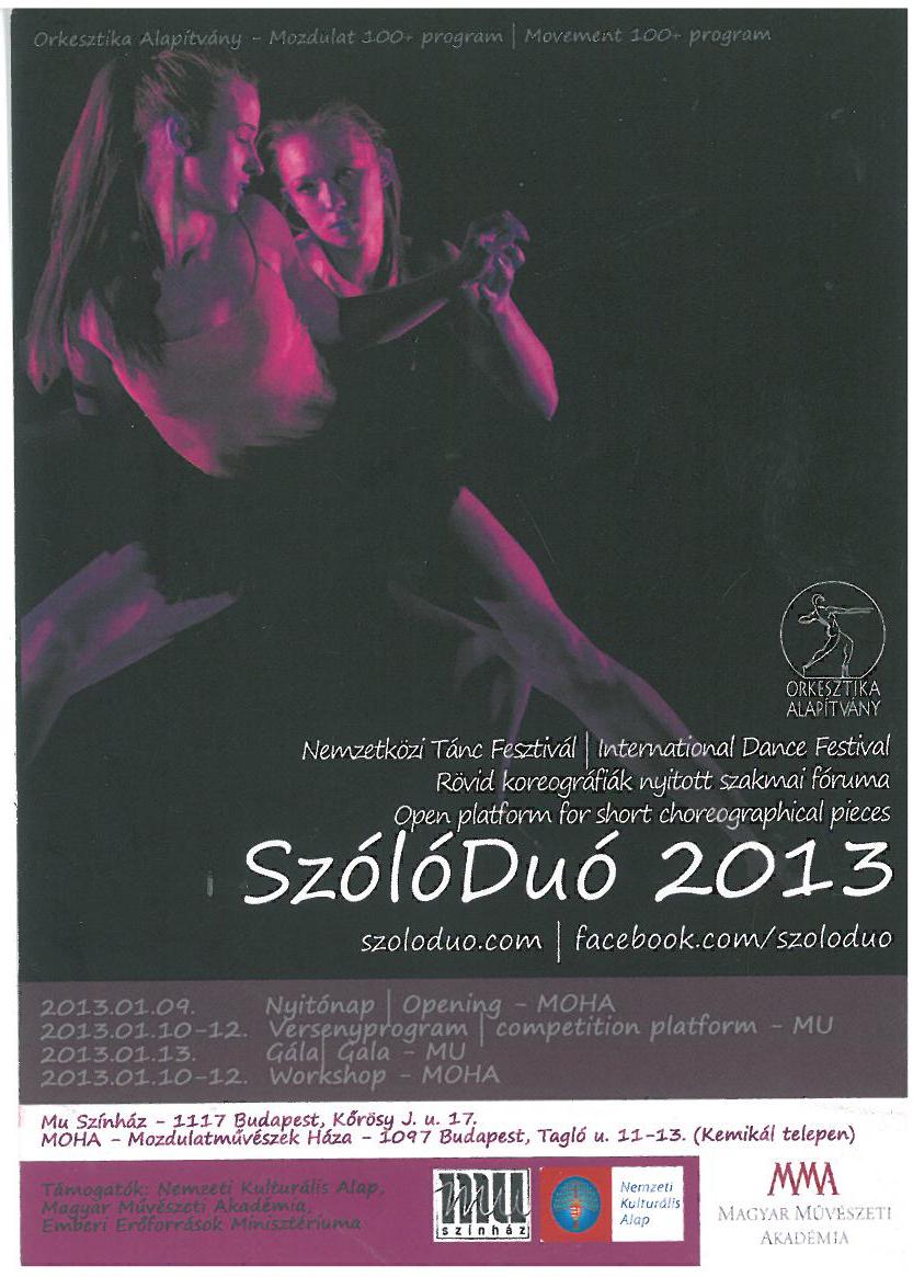 Szolo Duo 2013