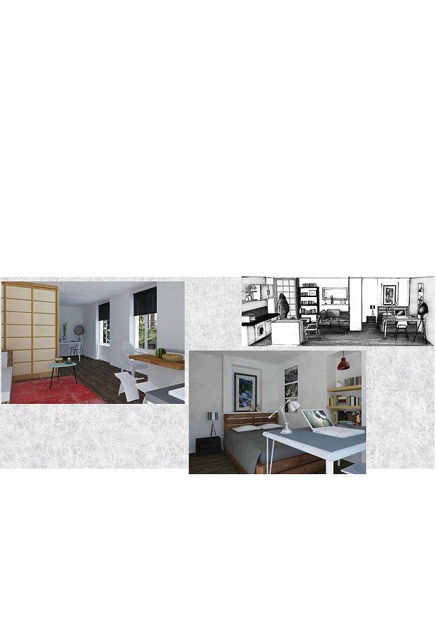 Aménagement Studio Les Orpimentes design