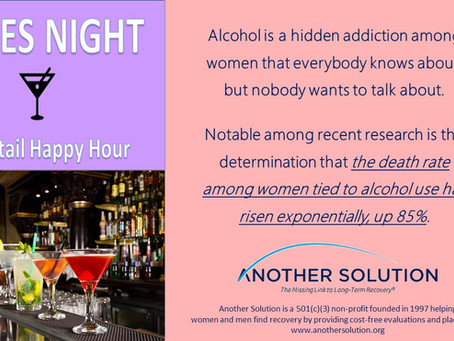 Alcohol is a growing women's health issue