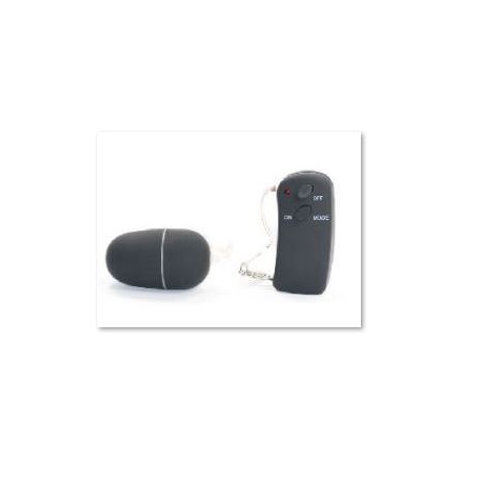 10 Speed Vibrating Egg with remote - Black